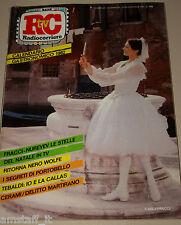 TV RADIOCORRIERE=1981/51=CARLA FRACCI=RUDOLF NUREYEV=RENATA TEBALDI=CONRAD W.=
