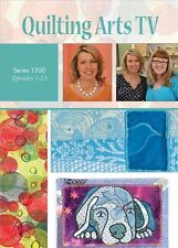 "Quilting Arts TV Series 1200 with Patricia ""Pokey"" Bolton DVD"