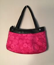 Thirty One Skirt Purse Black And  Pink Skirt Great Condition