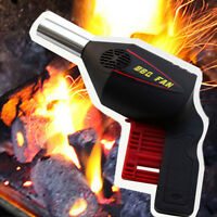Portable Manual Camping BBQ Fan Air Blower Barbecue Fire Bellows Stove Tools NEW