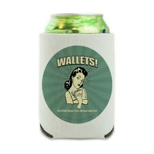 Wallets Other Bulge Woman Looks For Can Cooler Drink Hugger Insulated Holder