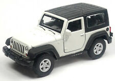 NEU: Modellauto Jeep Wrangler Rubicon ca. 11,5cm weiß mit Verdeck Neuware WELLY