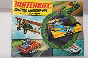 Matchbox Superfast Toys, 1973 Collectors Catalog, Original