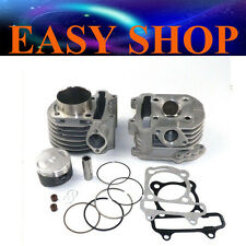 57.4mm GY6 150cc Engine Cylinder Head Bore Scooter Moped ATV Quad Bike Motor