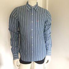HOLLISTER California Mens Shirt Button Down 100% Cotton Size M LONG SLEEVE
