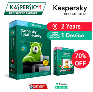 Kaspersky Total Security License Key | 1 Device | 2 Years | Global Key