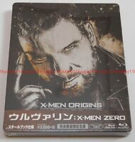 New Wolverine X-MEN ZERO Origins Limited Edition Blu-ray Steelbook Japan F S