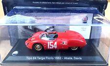 Tipo 64 Targa Florio 196272 Abate, Davis 1/43  MASERATI Leo Models 057
