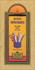 The Pocket Paper Engineer, Volume I: Basic Forms: How to Make Pop-Ups Step-by-St
