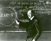 ROBERT H. GODDARD TEACHES AT CLARK UNIVERSITY IN 1924 - 8X10 PHOTO (EP-553)