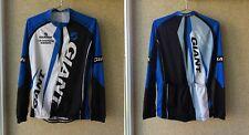 Giant Powered By Sram Cycling Shirt XL Jersey Long Sleeve sport BLUE