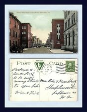 VIRGINIA WINCHESTER MAIN ST 1915 TO BETTY SHEETZ, SHEPHERDSTOWN, WEST VIRGINIA