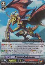 1x Cardfight!! Vanguard Dragonic Blademaster - G-BT01/014EN - RR Moderate Play