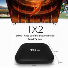 TX2 RK3229 Quad Core TV BOX Android 6.0 2+16G 4K WiFi HD 1080P Media Player A2G2