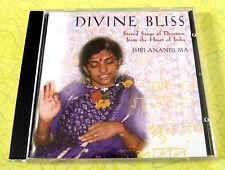 Divine Bliss ~ CD ~ Shri Anandi Ma ~ Sacred Songs of India ~ Rare World Music