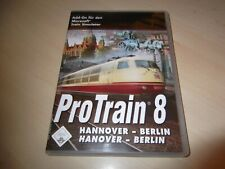 PROTRAIN 8 HANNOVER - BERLIN ~ MICROSOFT TRAIN SIMULATOR ADD-ON