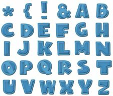 SPELLBINDERS GRAND SHAPEABILITIES DONNAS ALPHABET DIE SET CUT EMBOSS  LF-003