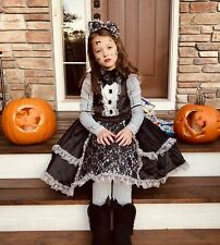 Gothic Scary Broken Doll Girl Costume from Spirit Halloween Signature Collection