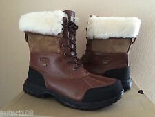UGG MEN BUTTE WORCHESTER WATERPROOF SHEARLING Boot US 9 / EU 42 / UK 8 - NEW