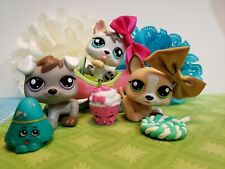 Authentic BABY Littlest Pet Shop LPS 1876 1877 1878 PETRIPLETS Puppy Dog