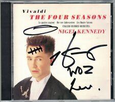 Nigel KENNEDY Signed VIVALDI Die Vier Jahreszeiten The Four Seasons CD EMI 1989