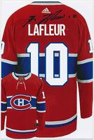 Guy Lafleur - Eishockey - hand signed Autograph Autogramm - COA Zertifikat