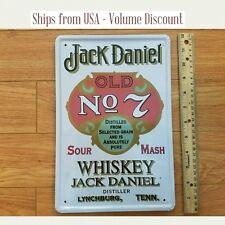 Jack Daniel's Sign Jack Daniels Old No 7 Jack Daniels Tin Sign Jack Daniels Art