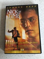Nick Of Time (M) DVD Pal (Johnny Depp) Free Postage