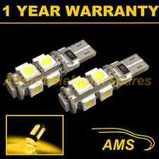 2x W5w T10 501 Canbus Error Free ámbar LED 9 sidelight Laterales Bombillos sl101702