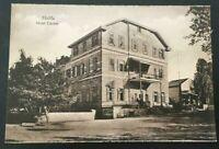PALESTINE HAIFA HOTEL TEMPLER GERMAN CARMEL RARE PC 1910