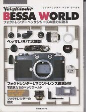 CAMERA GUIDE BOOK Bessa L R T Voigtlander, 2001 JAPAN very good rare