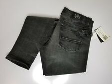 Rock & Republic Women's Distressed Gray Skinny Denim Jeans Size 28 x 34