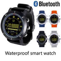 Bluetooth Smart Watch Waterproof Smartwatch Pedometer For Android iOS Men Women