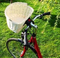 Fahrradkorb Hundefahrradkorb Einkaufskorb Weide Lenker Lenkerkorb Weidenkorb Neu