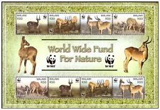 MALAWI 2003 WWF ENDANGERED ANTELOPES PUKU SPECIES MINI SHEET SG MS 1017