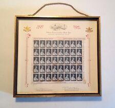 1964-1965 New York World's Fair Vatican Commemorative Postal Stamp Issue