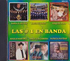 Banda El Recodo EL Limon Ezequiel Pena Las Numero Uno En Banda CD New Sealed