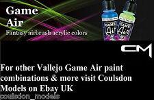 Pinturas Acrílicas Aerógrafo-Vallejo Juego Aire Elige Cualquier 4 X 17ml Colores/Aux