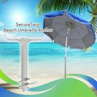 Beach Umbrella Sand Anchor Heavy Duty Metal Beach Umbrella Accessories For Beach