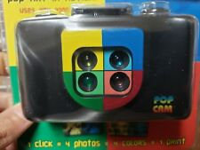 Pop Cam 35mm Camera Artistic Creative Photograph Art Gift Kids Toy Hue New!