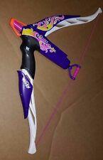 Nerf Rebelle Heartbreaker Bow White Purple Dart Gun Blaster Hasbro 2013 Used