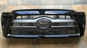 Toyota Tacoma 05-10 Black Sand Pearl Painted 209 Grille Genuine OEM OE