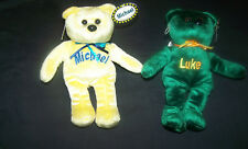 MICHAEL PERSONALIZED NAMESAKE BEAR w TAG -  MINT -  SEE LIST of NAMES AVAILABLE