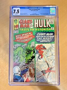 TALES TO ASTONISH #62 (CGC 7.5) KEY: 1ST APPEARANCE OF THE LEADER (SHE-HULK TV)