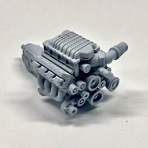 Resin Hemi SRT Hellcat Demon Hellephant Engine Swap fits Dodge Kits 1/24 1/25