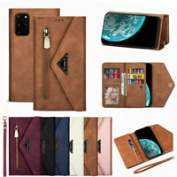 For Samsung Galaxy Note 20 Ultra Flip Leather Case Cover Card Slots Wallet Stand