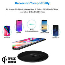 QI R-JUST Fast Wireless Charger 15W Universal For iPhone X 8 Plus US STOCK