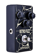 More details for ammoon retro fuzz analog fuzz guitar effect pedal 2 modes true bypass effect