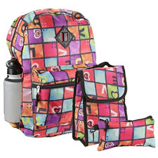 CONFETTI Love Multi-Color 5 Piece Backpack Set, 100% Polyester