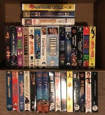 Lot of 33 Family/Action/Comedy/TV VHS Tapes - Popular Classics - Mostly PG13